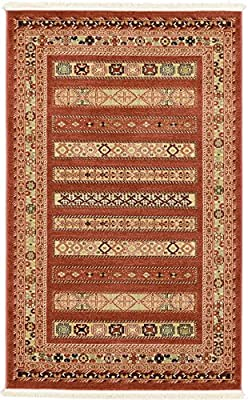 Modern Tribal Nomad Contemporary Area Rug
