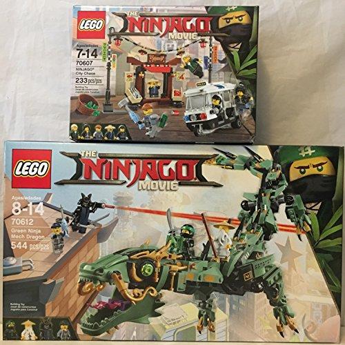 Lego Ninjago Movie Green Ninja Mech Dragon   Lego Ninjago Movie City Chase