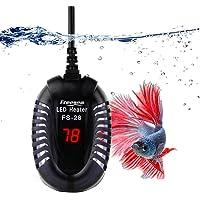 FREESEA Aquarium Heater Fish Tank Submersible Heater (50W/75W/100W) with LED Temperature Display