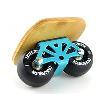 Drift Freeline Skates, Patinaje Sobre Ruedas de Patinaje Sobre Ruedas de Patinaje en patineta de Cuatro Ruedas para niños Adultos: Amazon.es: Hogar