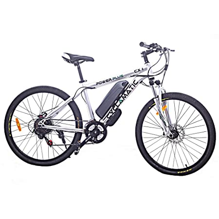 side facing cyclamatic pcx1 electric bike