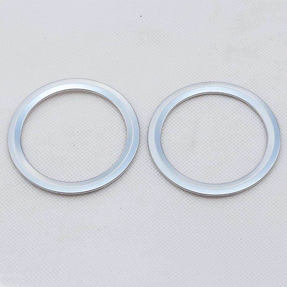 2/pcs Chrome Int/érieur AC prise de courant d/'a/ération pour garniture D/écoration