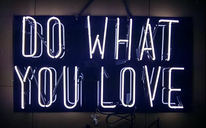 Prang-US Do What You Love Neon Signs 17×14 inch with Black