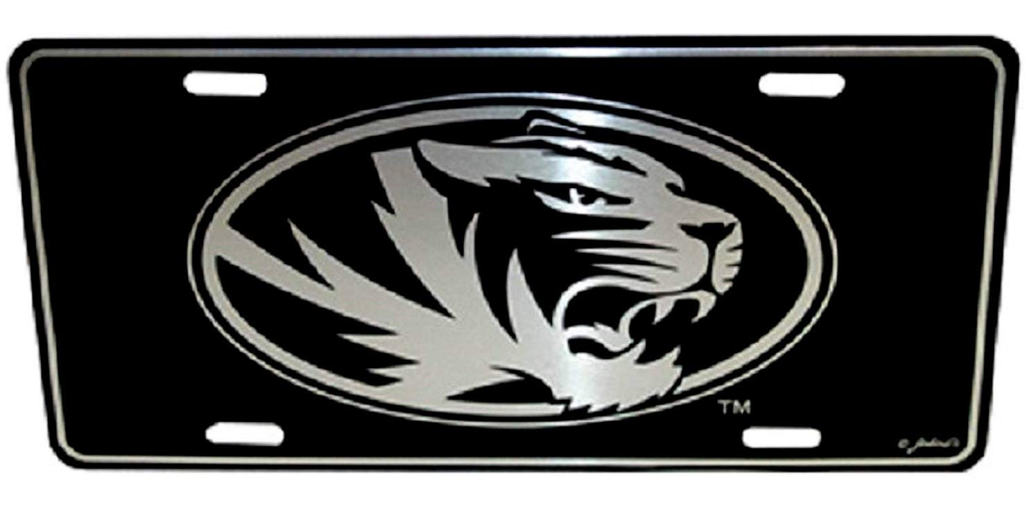 Missouri Tigers Elite License Plate Saddle Mountain Souvenir