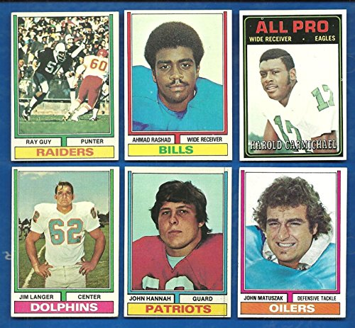 1974 Topps Football Complete Set 528 Cards Nrmt Condition (1974 Topps Football)