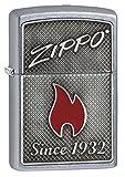 zippo insert lighter - Zippo Logo & Flame Pocket Lighter
