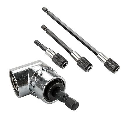 1//4/'/' Quick release Change Chuck Adaptor Holder Fast Bit Drill 6mm Screw UK New