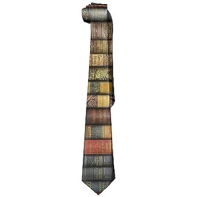 Libro de corbatas (1382) Corbata ancha para hombre Seda con ...