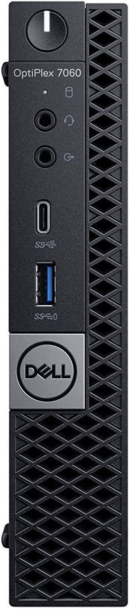 Dell OptiPlex 7060 Micro Form Factor Computer Intel 8th Gen i5-8500T 2.10GHz (Up to 3.50GHz) 6-Core Processor 32GB DDR4-2666MHz Memory 1TB NVMe SSD Windows 10 Pro