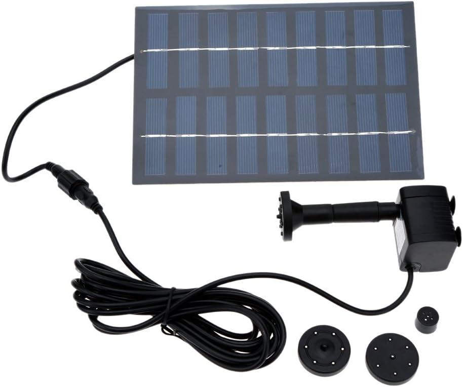 Anself bomba nueva de energía solar sin cepillo para el ciclo del agua de la charca del jardín o rocalla fuente