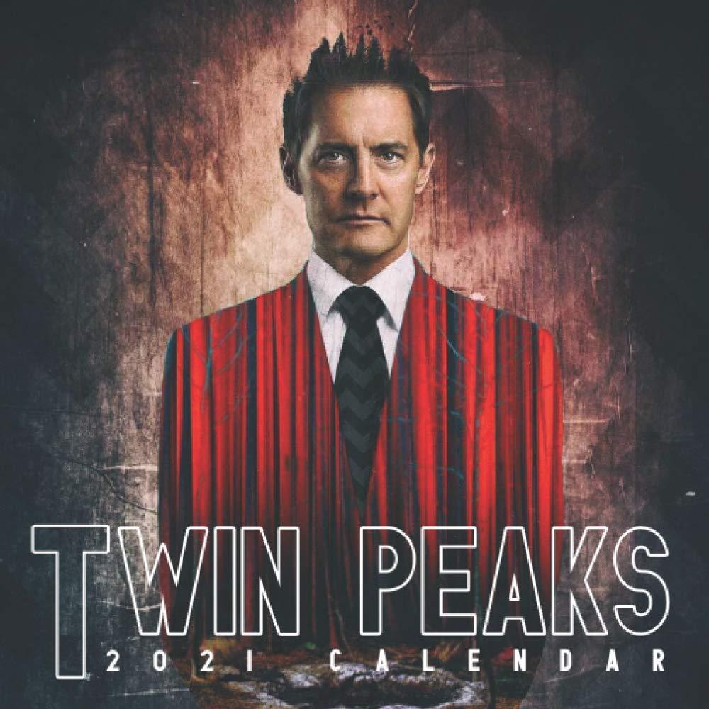 Amazon.com: Twin Peaks: Calendar 2021 in mini size 7''x7'' with