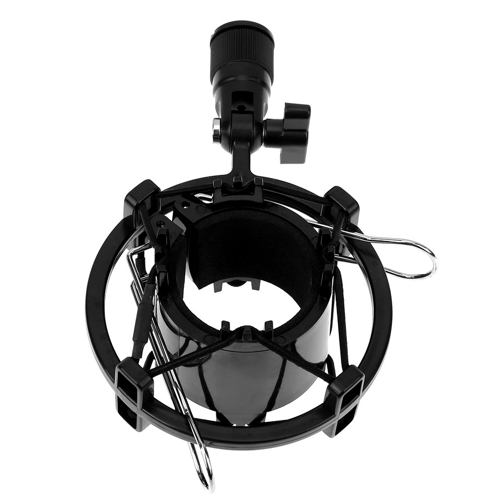 Ballylelly Mikrofonst/änder Universal Studio Sound Recording Mikrofon-Mikrofon-Shock-Mount-Cliphalter