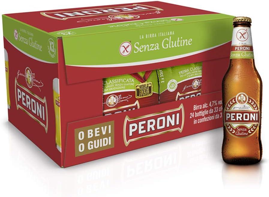 Cerveza sin gluten peroni 33cl cerveza italiana gourmet