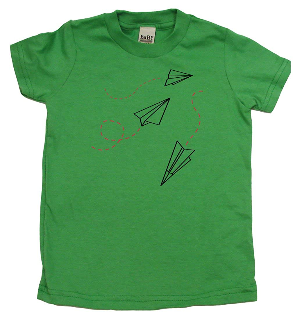 Cute Kids Gift Baby Wit Paper Airplanes Adorable Toddler Clothes Boy Or Girl T-Shirts