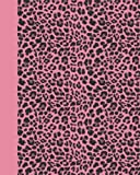 Journal: Animal Print (Pink Leopard) 8x10 - LINED