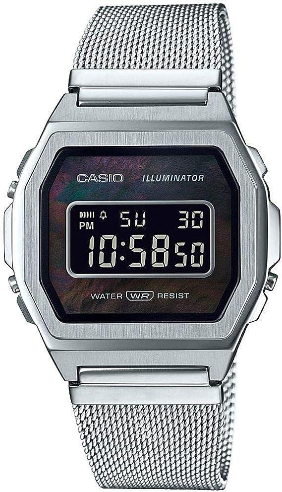 Casio Reloj Digital para Unisex Adulto de Cuarzo con Correa en ...