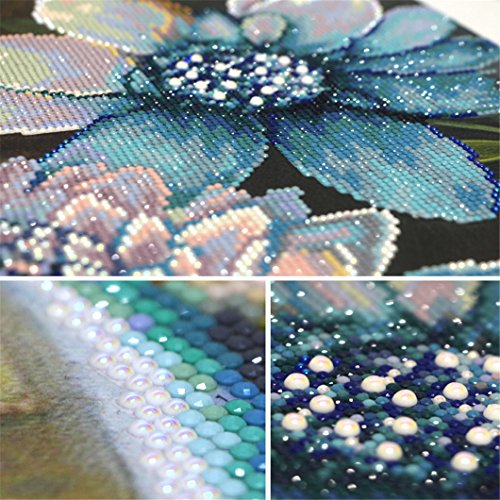 Mazixun 5D Diamond Embroidery Flower Vase DIY Diamond Painting Cross Stitch Diamond Mosaic Bead Picture Decor 60x135cm by Mazixun (Image #2)