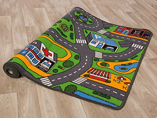 tapis enfant voiture. Black Bedroom Furniture Sets. Home Design Ideas