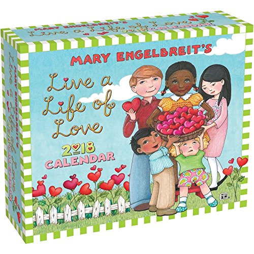 Mary Engelbreit 2018 Day-to-Day Calendar: Live a Life of Love