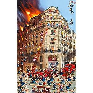Piatnik Fire Brigade The Hottest Club In Town Puzzle 1000 Pezzi