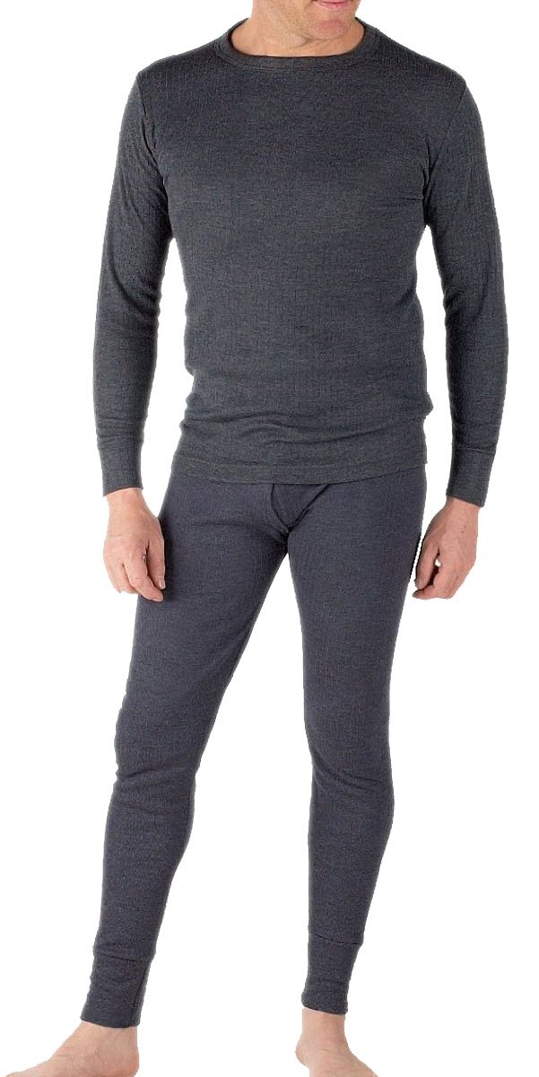 Mens Thermal Set Long Sleeve Vest and Long Johns