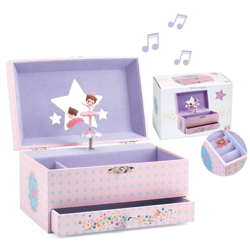 Djeco B019EBZHD0 Musical Boxes, Pink