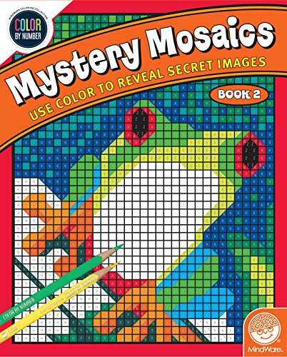 MindWare Color Number Mystery Mosaics: (Book 2)
