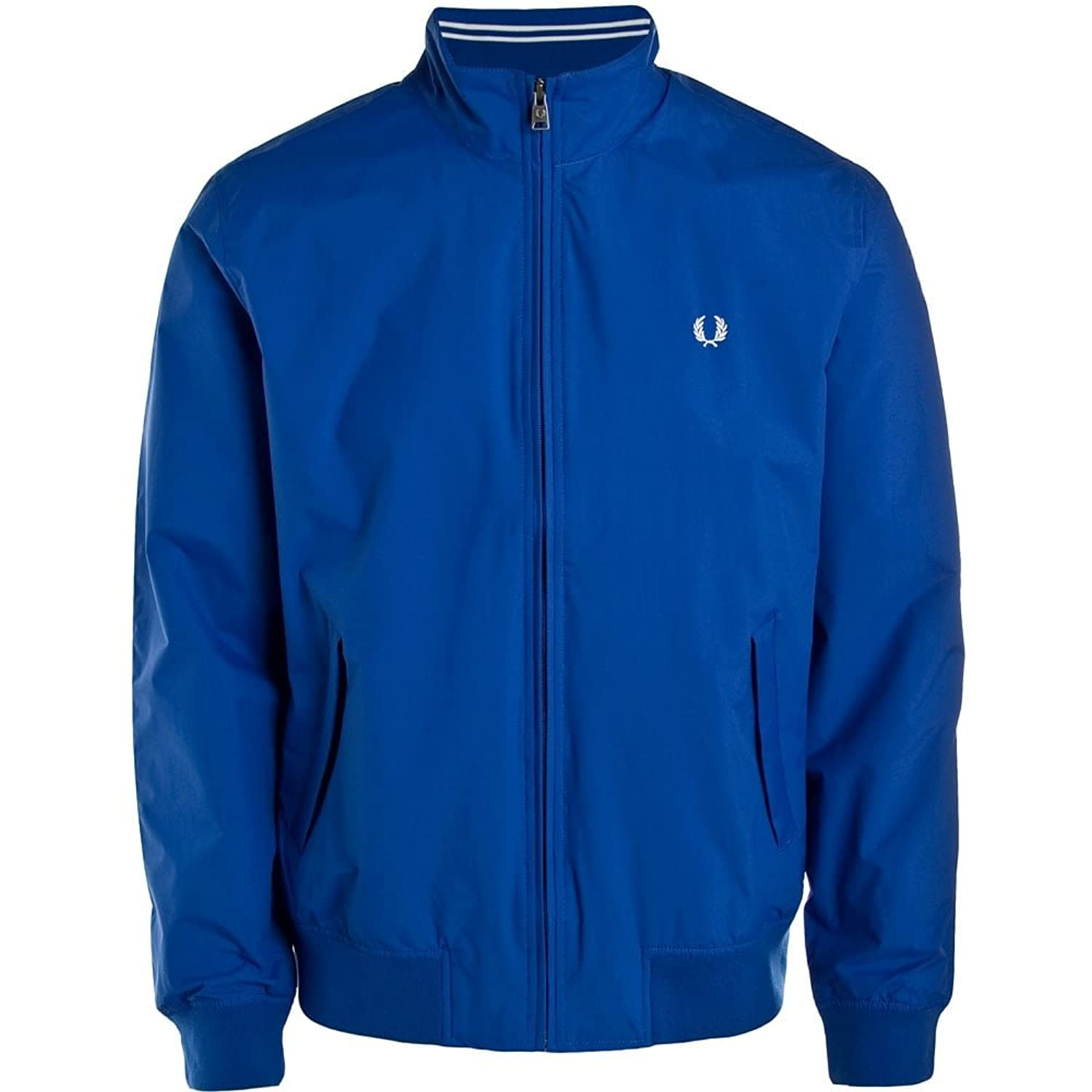 Fred Perry Brentham Striped Collar Zip