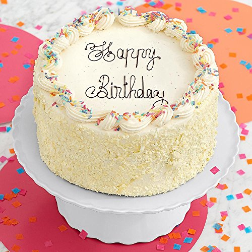 Shari's Berries - Vanilla Bean Happy Birthday Cake - 6
