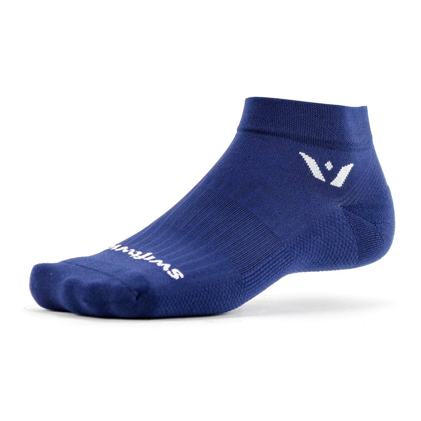 Swiftwick- Aspire ONE Firm Compression Ankle Socks Socks Built for Running /& Cycling Fast Drying