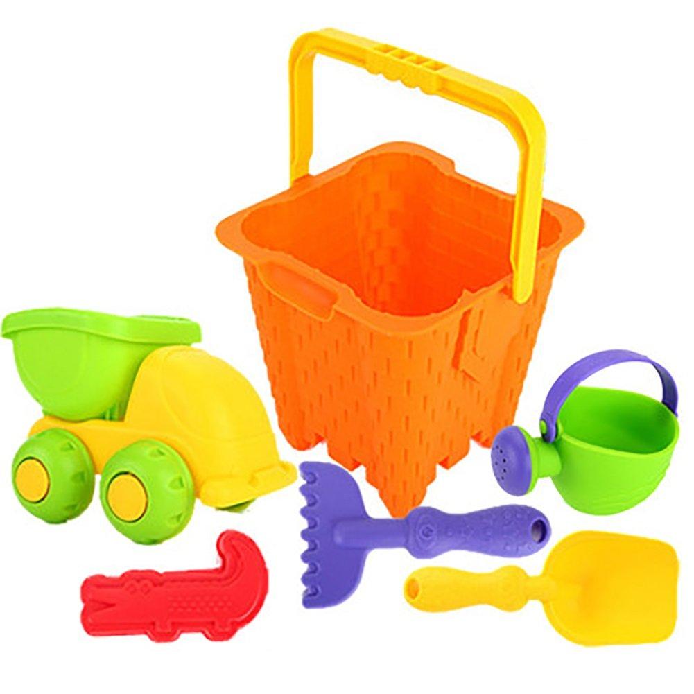 Cubo Playa Beach Niños De Para Color Toy Goma Suave Juguete 8mNn0w