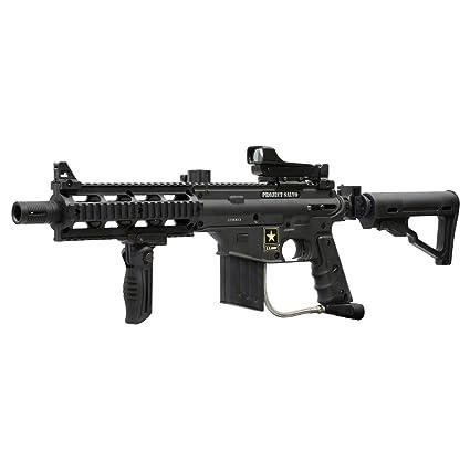 Amazon Com Tippmann Us Army Project Salvo Sniper Paintball Gun M