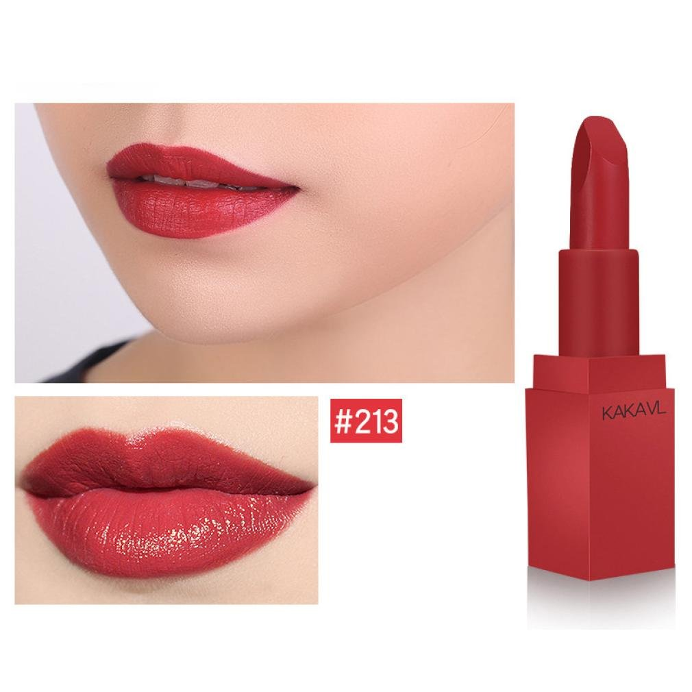 Hot Sales! DEESEE(TM) Waterproof Mist Face Silk Velvet Lipstick Matte Lipstick Lasting Makeup Tool (C)