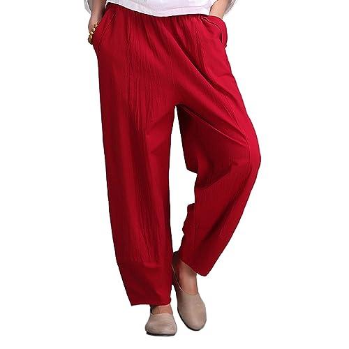 Dreamworldeu – Pantalón – relaxed – Básico – para mujer
