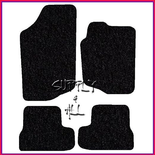 Car Van Truck Brand Name 2006-2012 H5:CT55 207 Vehicle Specific Car Mat Set in Black Carpet with Black Edge Trim Colour 4 Piece