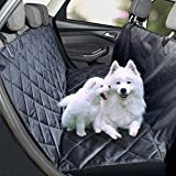 Feezen Dog Seat Cover Car Seat Cover for Pets Hammock Waterproof - Anti-Dirt Quilted Polyester - Non-Slip Bottom & Seat Anchors Pet Seat Cover for Cars - Trucks - SUVs