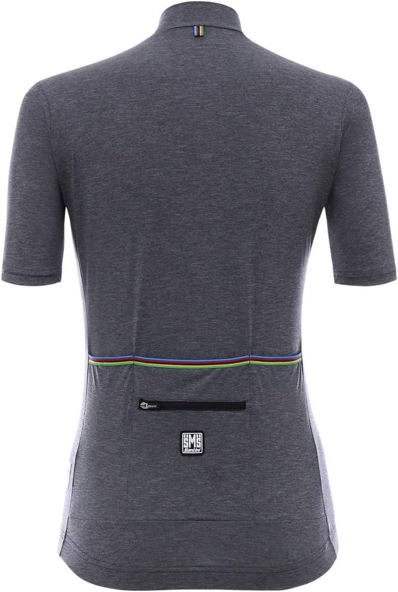 Santini UCI Rainbow Origine Maglia Manica Corta Donna