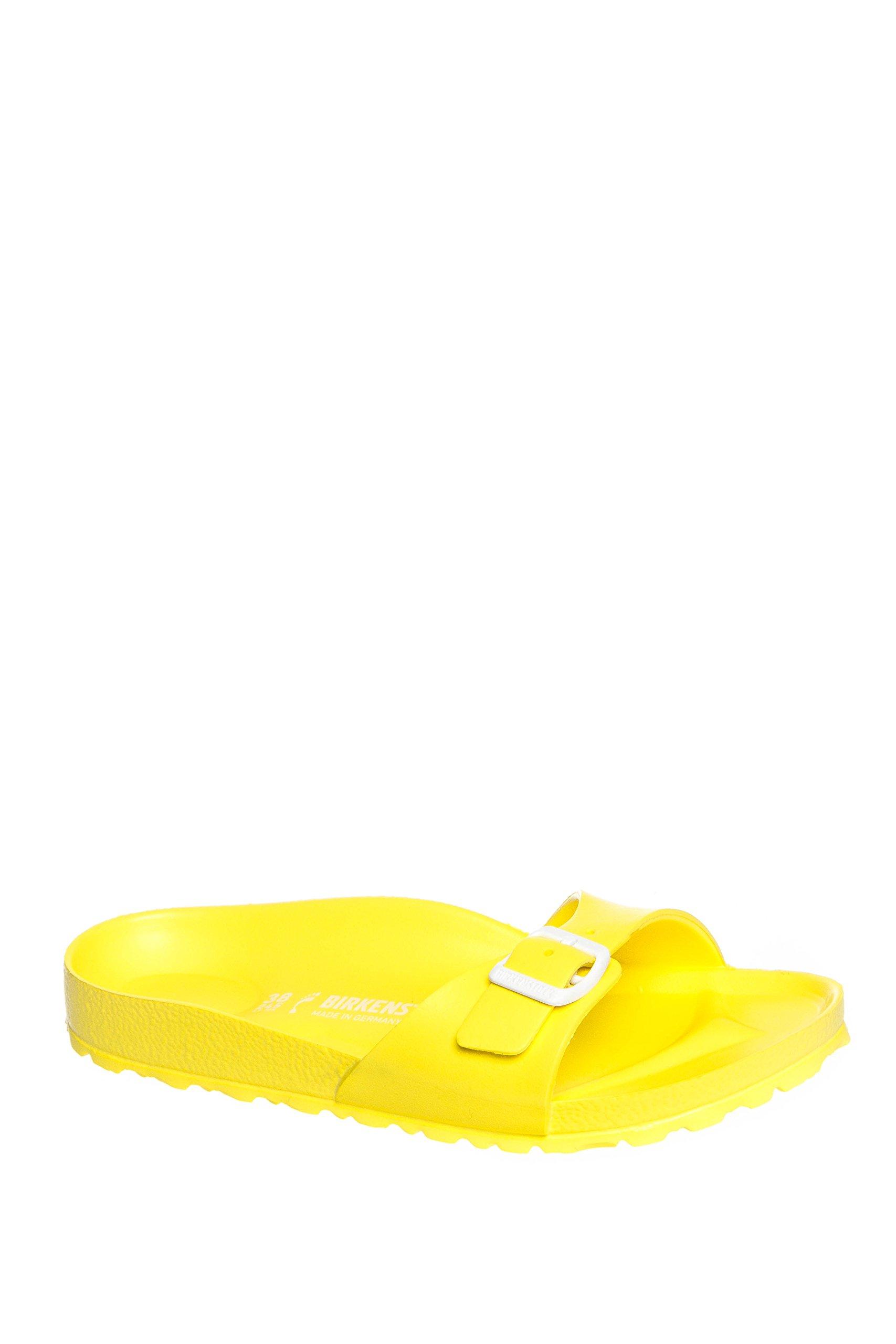 e87413df217 Galleon - Birkenstock Madrid EVA Slide Sandal Shoe - Neon Yellow - Womens -  37
