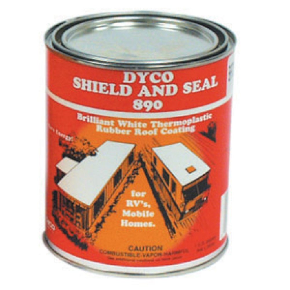 Dyco Paints 8901 890 Roof Coating - 1 Gallon