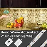 Under Cabinet Lights, Megulla 5ft/1.5m LED Strip Light, Dimmable, IP65 Waterproof, 12V Power