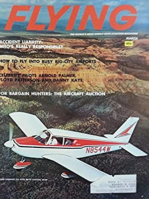 Flying: Aviation Magazine March 1964 - Bargain Hunters - The Aircraft Auction - Piper Cherokee 235