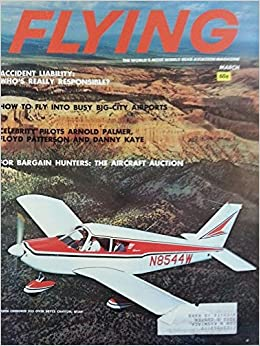 Flying: Aviation Magazine March 1964 - Bargain Hunters - The