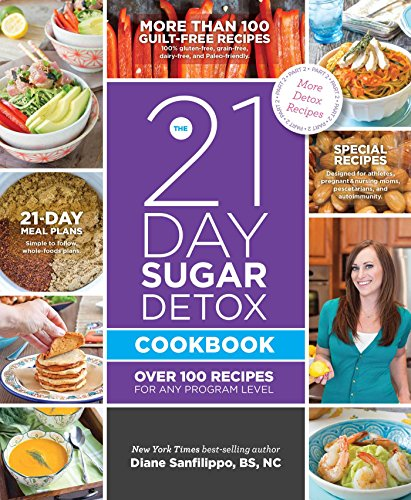 The 21-Day Sugar Detox Cookbook: Over 100 Recipes for Any Program Level by Diane Sanfilippo BS  NC