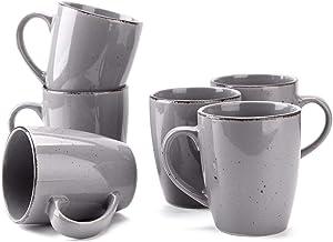 Mugs Set of 6 (Grey)