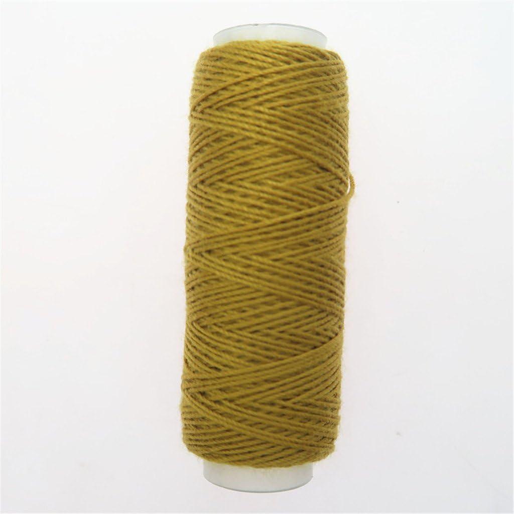 IPOTCH 10 Rolle N/ähgarn Jeansgarn Polstergarn N/ähmaschinengarn Faden Spulen aus hochwertigem Polyester je ca.50m