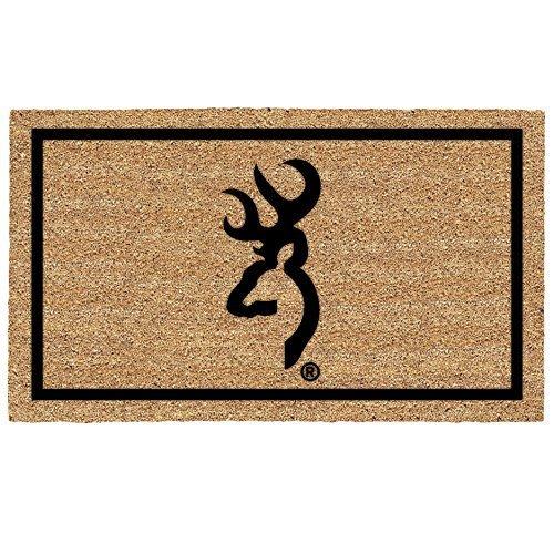 Browning Buckmark Coir Door Mat Floormat by Browning