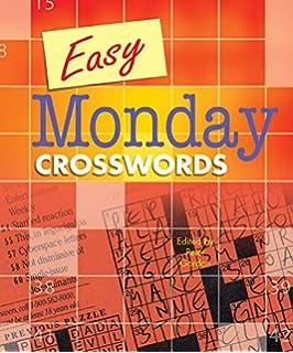 Easy Monday Crosswords 2 Gordon Peter 9781454914198 Amazon Com Books