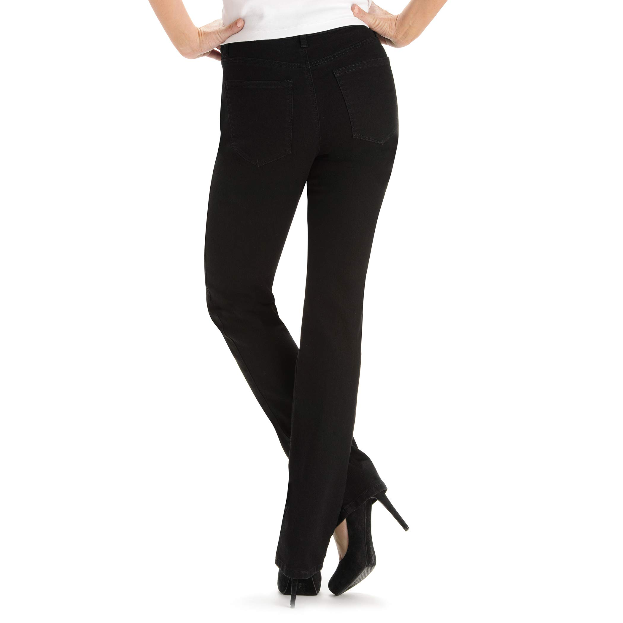 e89fb8655b0f5 LEE Women s Tall Instantly Slims Classic Relaxed Fit Monroe Straight Leg  Jean