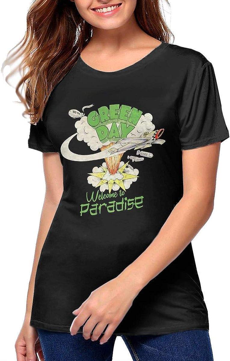 AdelineEstell Green Day Womens Beautiful Summer T-Shirt