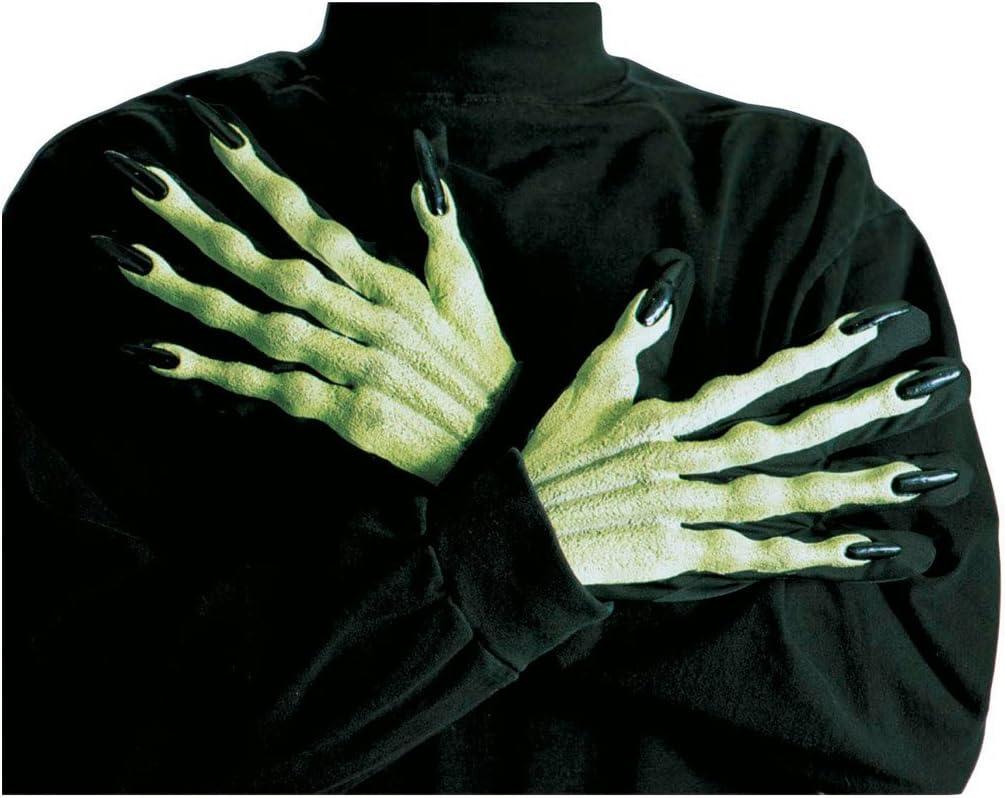 Halloween ongles longs gants adulte femme Smiffys accessoires costume robe fantaisie